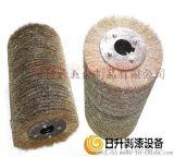 鋼絲滾筒輪刷 滾筒刷 鋼絲輪 滾筒輪 鋼絲刷  剝漆鋼絲輪 平行鋼絲輪