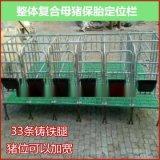 長期供應複合板定位欄母豬保胎牀