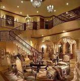 豪華歐式高檔別墅樓梯鐵欄杆