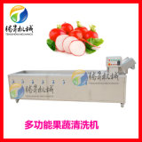 食品機械廠家 不鏽鋼氣泡蔬菜清洗機 波菜清洗機
