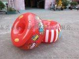 廠家直銷兒童充氣玩具 兒童碰碰圈 PVC充氣碰碰球 遊戲撞撞圈