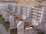 供應攔河鋼壩閘MCHO88O液壓升降鋼壩閘生產廠家