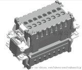16芯重載-母端插座-格力浦
