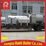 廠家直銷 YYQW系列臥式燃油/氣導熱油鍋爐 120KW工業專用鍋爐