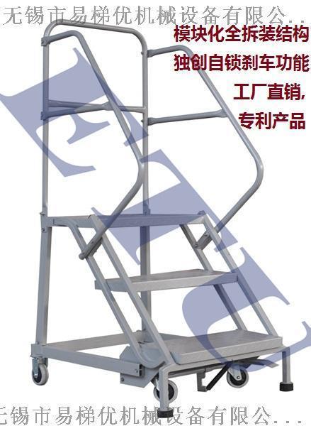 ETU易梯優|迷你型登高梯|超市登高梯|適合超市便利店倉庫貨架使用