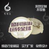 公司logo徽章定製低價定製高檔金屬徽章來圖定製