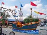 戶外裝飾船 廣場仿古海盜船裝飾大型船模廠家