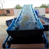 散糧裝車機品牌/圖片/價格 大傾角裝車槽型皮帶機 密封式皮帶輸送機