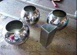 不鏽鋼花盆製做 花紋 表面局部噴砂 不鏽鋼花盆裝飾