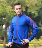 運動套裝長袖外套男秋冬季跑步服速乾透氣健身外套夾克足球訓練服
