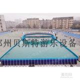 支架游泳池廠家定做移動方便可拆卸支架水池