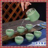 淡雅青花瓷茶具, 定做精美禮品茶具, 日用陶瓷茶具