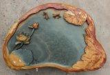 廣東端硯石茶盤