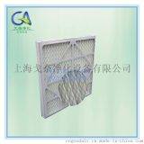 防水紙框摺疊初效板式過濾網 上海廠家直銷