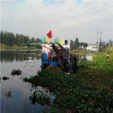 江蘇全自動水草收割打撈船 水面雜草收割清理機