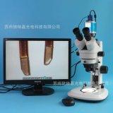 XTL-7045TJ3-530HS型三目CCD電子顯微鏡廠家 帶LED上下光源