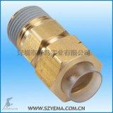 卡套接頭 CC6X4-02 優質黃銅 適用多種流體介質 韓國原裝