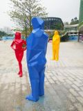 供應卡通熊貓雕塑玻璃鋼雕塑動物雕塑電話13437156698