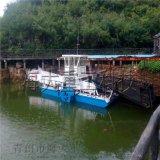 促銷水葫蘆收集清理船,水草打撈船,全自動割草船