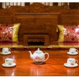 銀銀瓷器醴陵釉下五彩瓷高端瓷器商務禮品陶瓷茶具定製送禮茶具