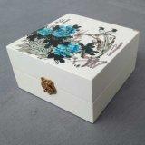 廠家生產定做木盒包裝盒 創意絲印山水畫仿古長方形木盒木禮品盒