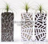 【定做】酒店不鏽鋼花盆 酒店辦公樓不鏽鋼創意造型不鏽鋼花盆