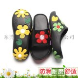 花朵涼鞋女夏季一字型拖外貿防滑EVA沙灘鞋居家涼拖鞋一件代發