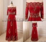 2018 酒紅色禮服 Party Dresses