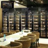 不鏽鋼酒櫃定製家用 酒櫃隔斷櫃紅酒櫃 不鏽鋼
