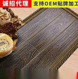 紋原木地板12mm 全實木封蠟橡木強化復地板批發