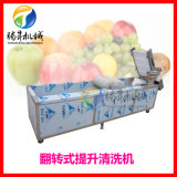 供應不鏽鋼連續式果蔬清洗機 水果清洗機 果脯生產線 可根據要求定做