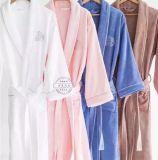 五星級酒店純棉成人男女士浴袍睡衣