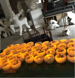 廠家直銷專業定製 模擬玻璃鋼碗擺件 仿古碗 碗舞臺道具