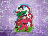 繪影手繪人形抱枕-中國特色創意手工抱枕