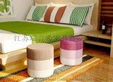 實木彩色時尚創意小圓凳 簡約迷你家用換鞋凳