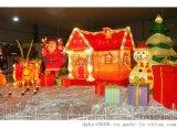 聖誕鐵藝場景佈置  聖誕鐵線裝飾工藝品 鐵藝造型