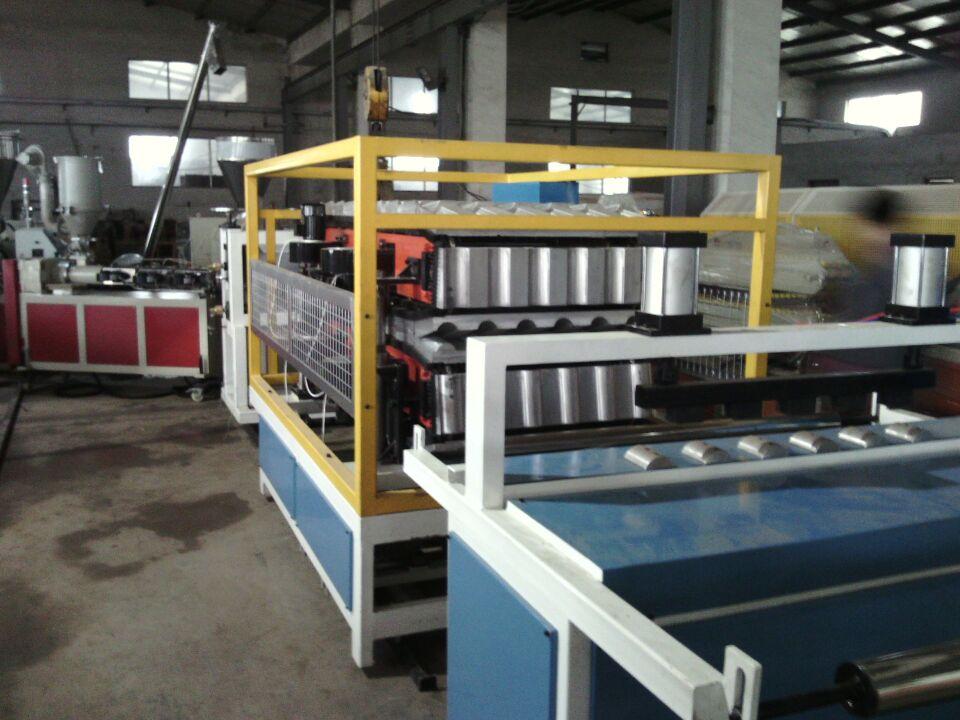朗逸机械牌pvc880mm合成树脂瓦生产线