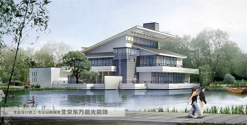 现代中式别墅设计【批发价格,厂家,图片,采购】-中国