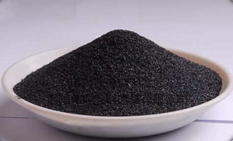 黑刚玉_不锈钢喷砂专用黑刚玉36# 树脂磨具用黑刚玉磨料