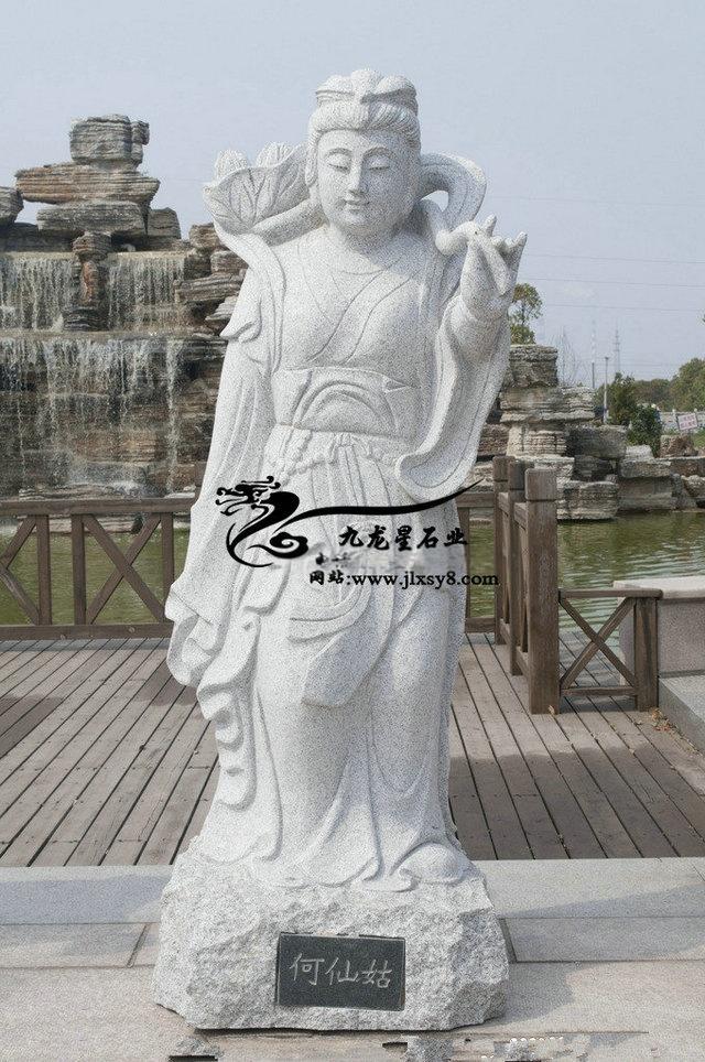 石雕神话人物 八仙神像雕塑 八仙过海雕塑