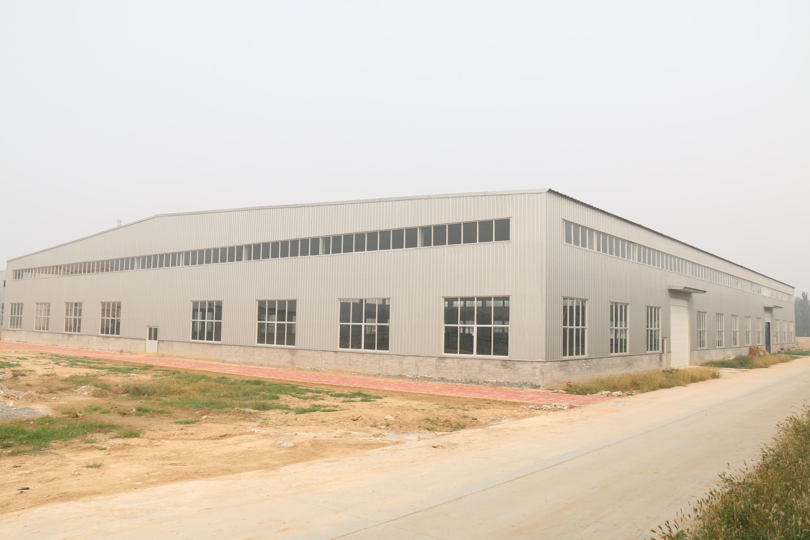 承建钢结构工程 轻钢结构厂房空间开阔框架稳固