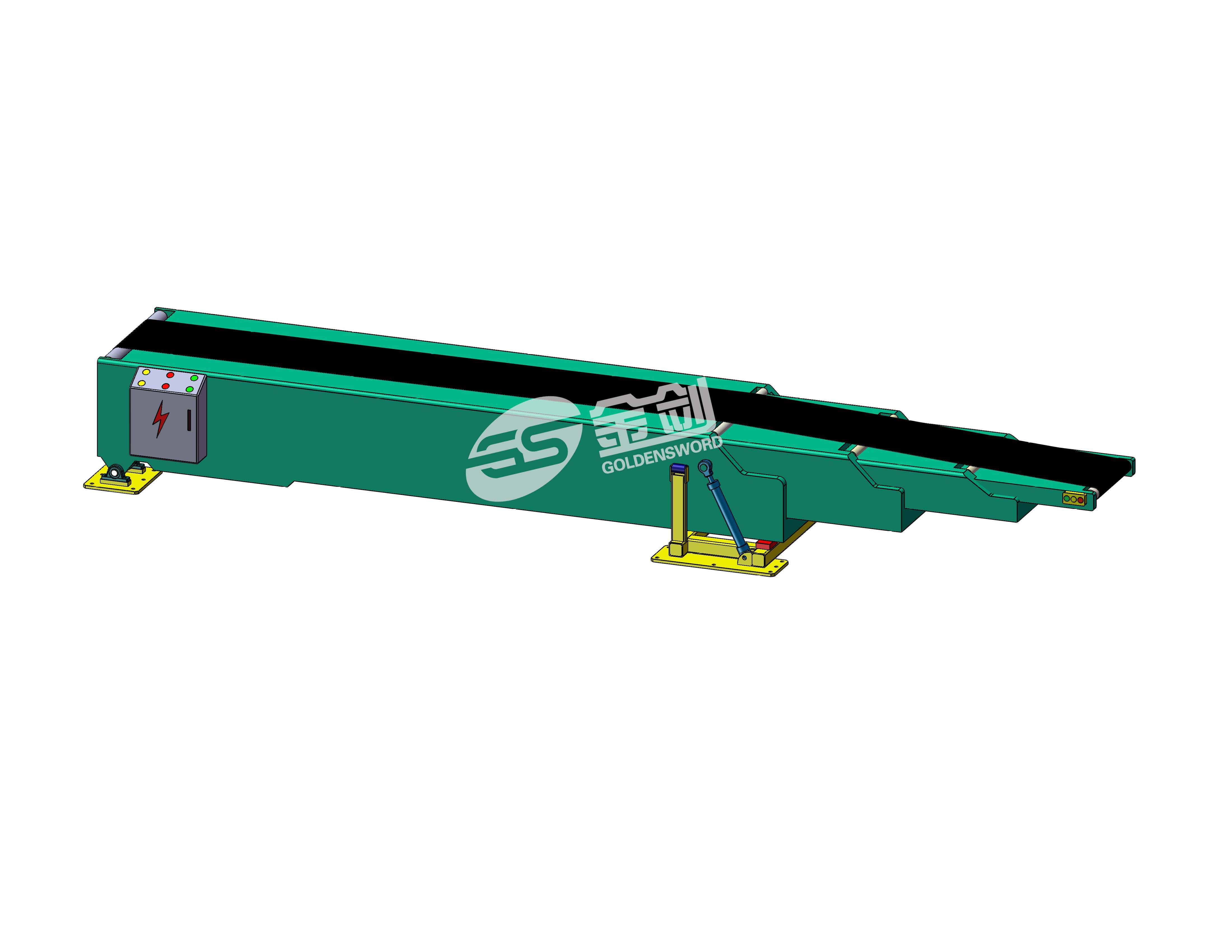 > 厂家供应伸缩皮带机 弯道皮带输送机 裙边皮带输送机 传送带输送机