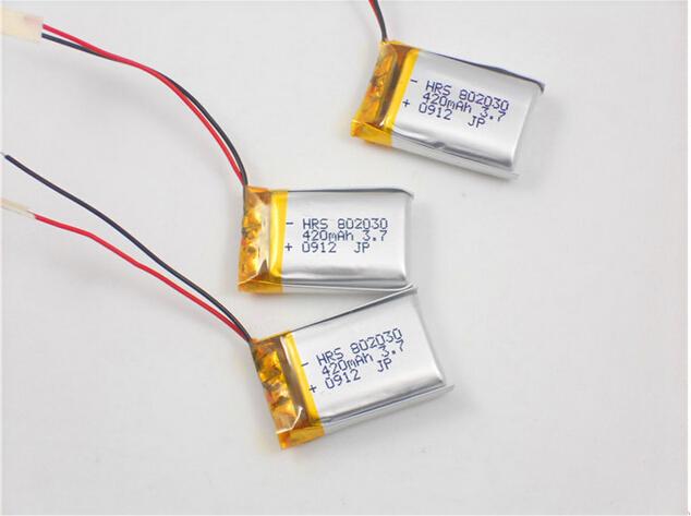 秤电池蓝牙音箱电池游戏手柄电池802030图片