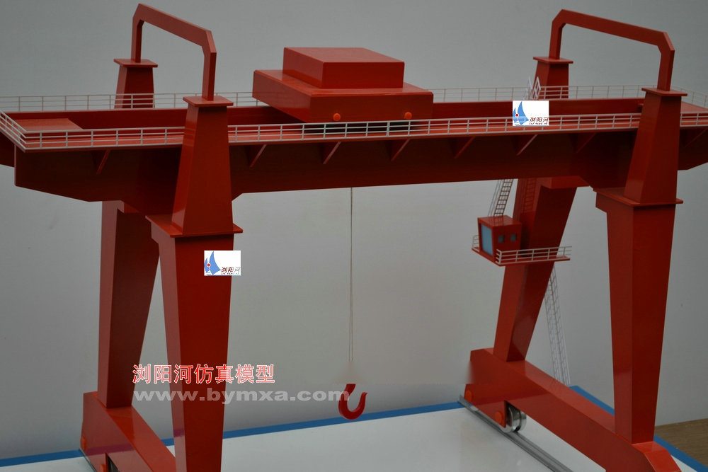 斜撑式桅杆起重机模型lyh-09