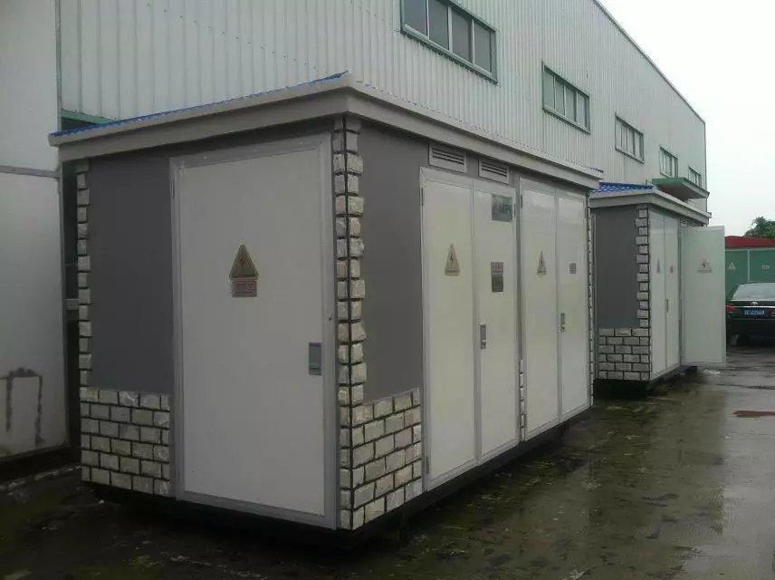 上海福开电气生产箱式变电站图片