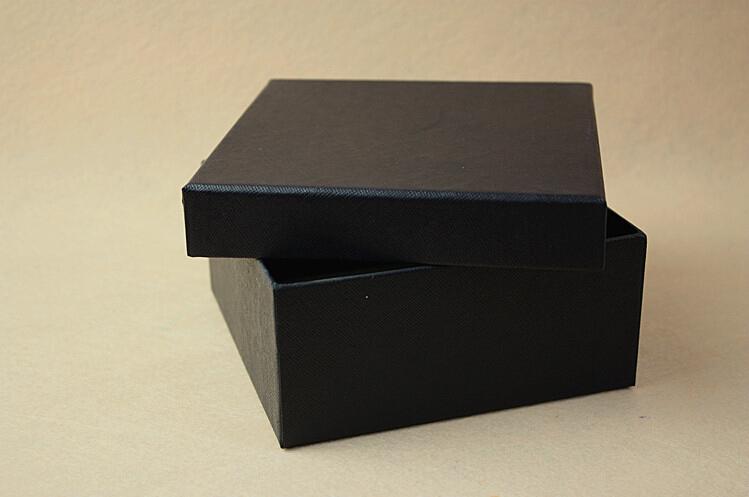 礼品盒 袜子礼盒 黑色高档内裤包装盒 天地盖盒子定做