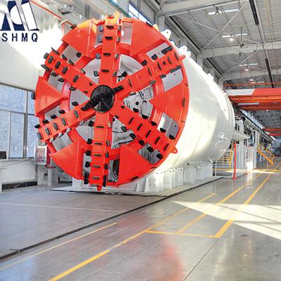 上海隧道掘进全自动盾构机图片