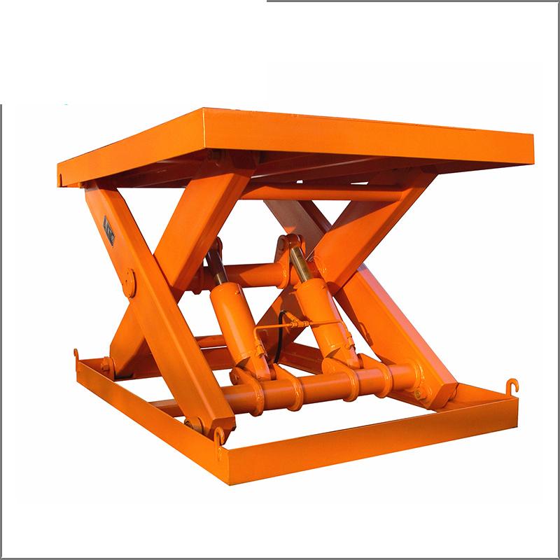固定剪叉式电动液压升降机升降平台升降货梯传菜机厂房货梯提升机图片