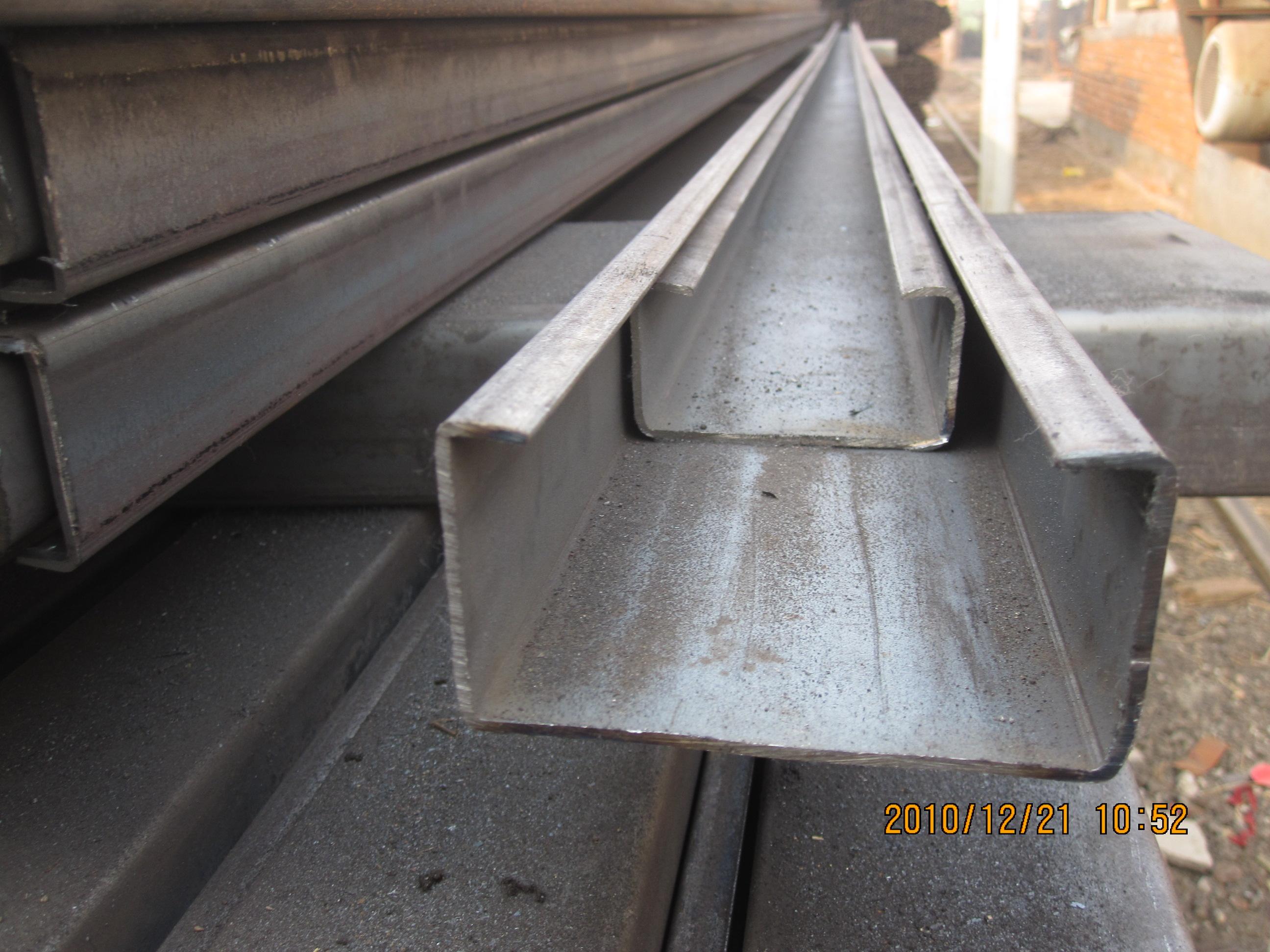 c型钢广泛用於钢结构建筑的檩条,墙梁,也可自行组合成轻量型