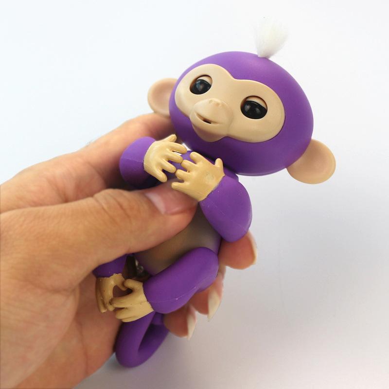指尖猴崽电子宠物wowwee创意儿童玩具手指猴 fingerlings触摸感应指尖
